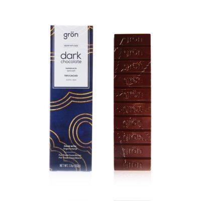 CBD Chocolate Bar <br/> 72% Dark Chocolate